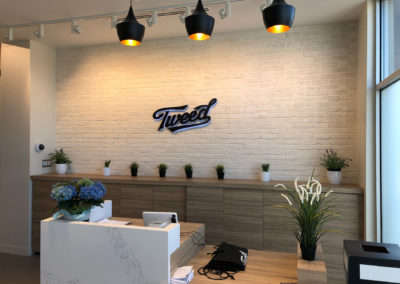 Signage for Tweed